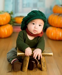 neonato vestito